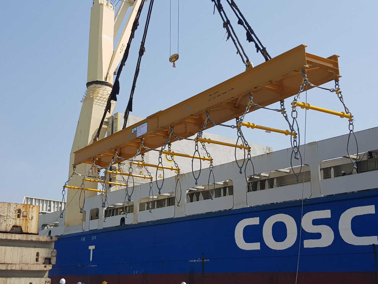 Modulift and Siemens Design Rig for Dockside Lifts