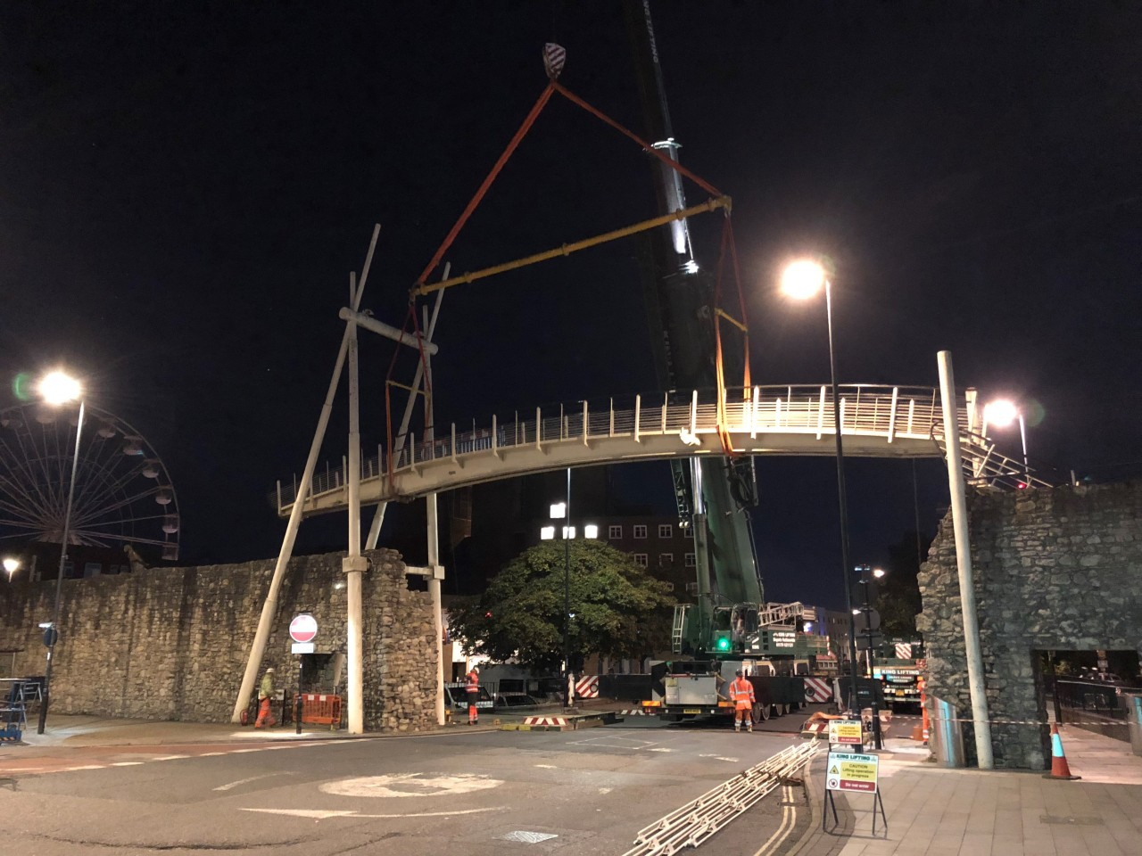 Modulift Beams Integral to Preserving Unique Southampton Heritage