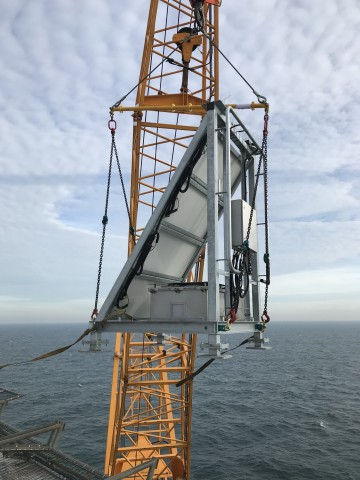Modulift Spreader Beam Lifts Offshore Navigation Skids