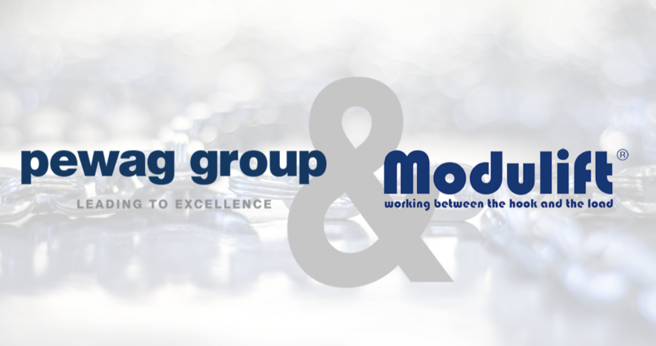 Modulift and pewag group announce strategic alliance