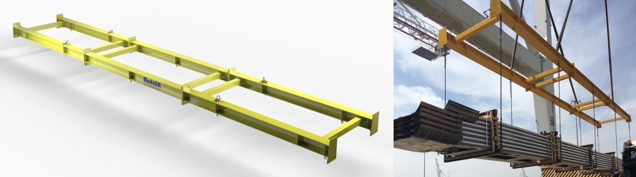Modulift's custom design solutions are the perfect answer for complex lifts