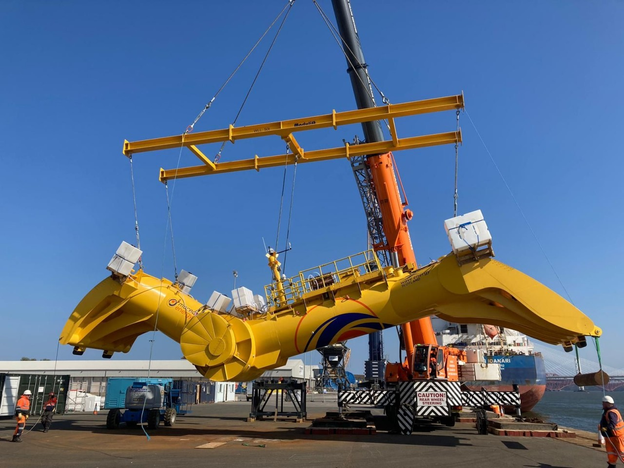 Blue-X-being-lifted-by-Modulift-Custom-Fram_20210528-144404_1