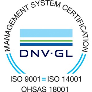 Modulift is certified ISO 14001 and 18001