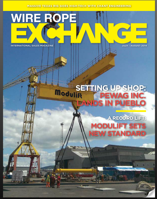 Modulift Steps Up to the Plate with World's Highest Capacity Single Point Lifting Beam