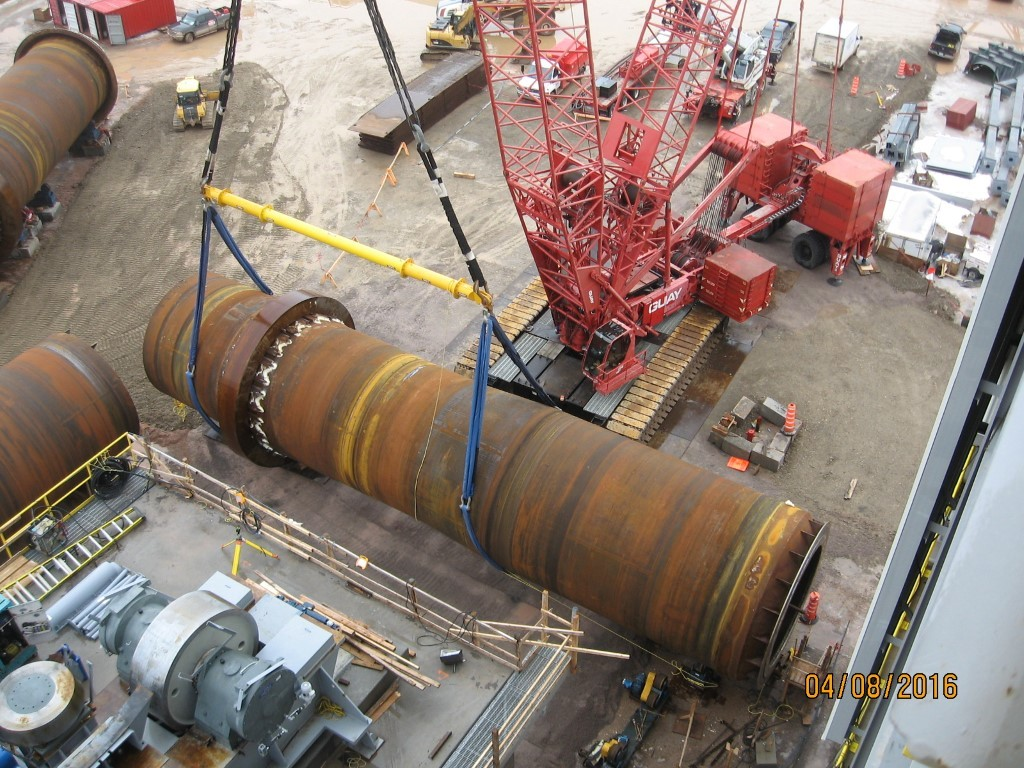 Rental Firm Chooses Modulift Spreaders to Lift Kiln Sections