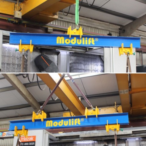 Modulift Launches Off-the-Shelf Adjustable Lifting / Spreader Beam with Next Day Delivery