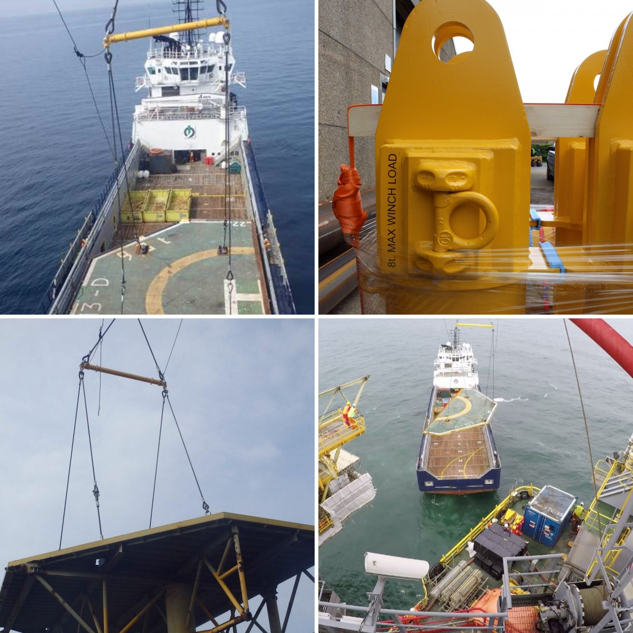 Certex Uses Modulift Beams for Helipad Lifts